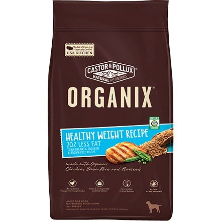 Castor & Pollux Organix Canine Adult Dry Dog Food - Healthy weight recipe
