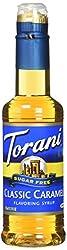 Torani Syrup, Sugar Free Caramel Classic, 12.7 Fluid Ounce