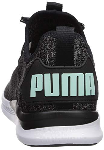 Ignite Black Femme De Flash charcoal Evoknit Chaussures Wn's Puma Running 1O4dw1