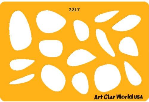 Designer Template - 2217 Jewelry - Designer Clay