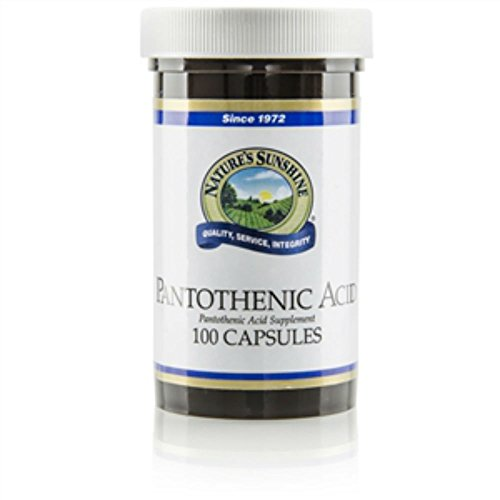 PANTOTHENIC ACID 250 mg, KOSHER (Pack of 2) 100 Capsules each 'FAST SHIPPING'