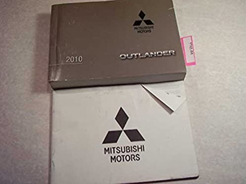 2010 mitsubishi outlander owners manual mitsubishi amazon com books rh amazon com mitsubishi owners manuals online mitsubishi owners manuals pdf