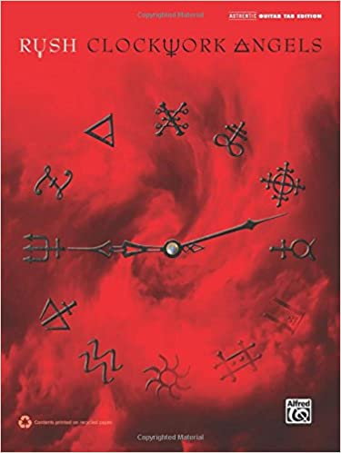 Guitar guitar tabs book : Amazon.com: Rush -- Clockwork Angels: Authentic Guitar TAB ...