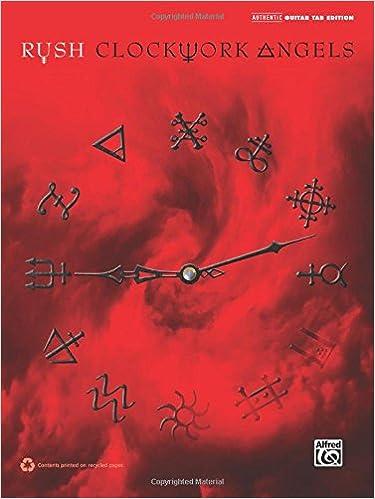 Guitar guitar tabs book : Amazon.com: Rush -- Clockwork Angels: Authentic Guitar TAB ...