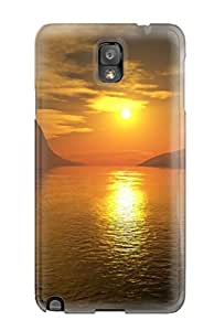 Awesome Design Sunset On Empty Planet Hard Case Cover For Galaxy Note 3