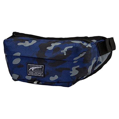 PUMA Academy Waist Bag Blue Depths-Camo AOP Envío Libre Mejor Lugar Genuino De La Venta En Línea Tienda De Venta Con El Envío Libre Paypal fG0fh
