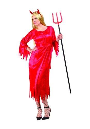 Amazon.com: Sexy Devilish Devil Costume, talla única ...