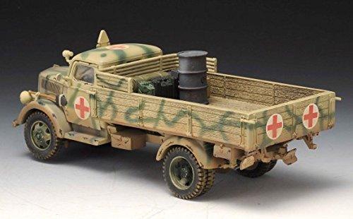 Thomas Gunn Miniatures SS044C German SS Opel Blitz Medical Truck - Normandy