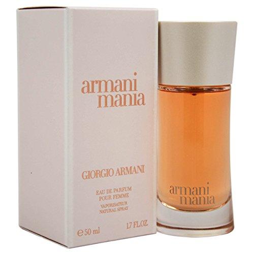 Giorgio Armani Mania Eau De Parfum Spray for Women, 1.7 Ounce (Giorgio Armani Mania Femme Eau De Parfum Spray)