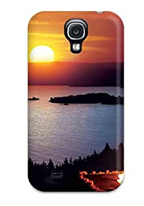 High Impact Dirt/shock Proof Case Cover For Galaxy S4 (fire)