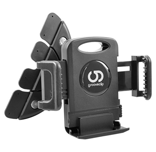 Geniale Idee! grooveclip - Die Original KFZ-Halterung für den CD-Schlitz | Made for Smartphone, Handy, Navi / GPS