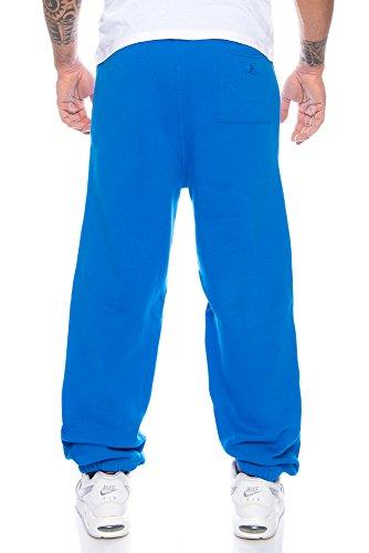 Pant Palestra Sudore Baggysweat Finchman Sciolto Fit Baggy Uomo Pantaloni Azzurro 0aUffvI