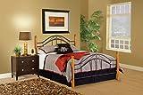 Hillsdale Furniture 164BQR Winsloh Bed Set with Rails, Queen, Medium Oak