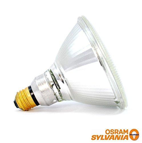 Sylvania 14577 (6-Pack) 90-Watt Capsylite PAR38 Flood Light Halogen Reflector Light Bulb, 2925K, 1300 Lumens, E26 Base