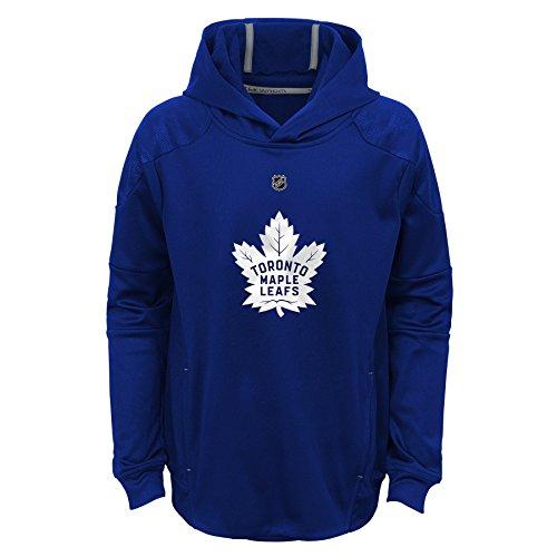 - Outerstuff NHL Toronto Maple Leafs Youth Boys Mach Pullover Hoodie, Medium(10-12), Dark Blue