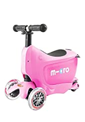 Micro Mini 2-Go Deluxe Scooter (Pink)