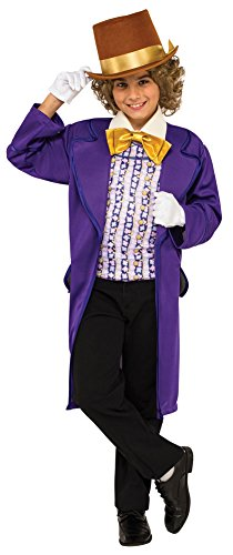BESTPR1CE Boys Halloween Costume-Willy Wonka Kids Costume Small