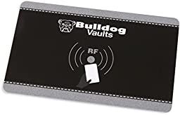 Bulldog Vaults Magnum LED Quick Vault RFID Access & Shelf, Black, Left/Right