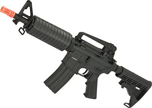 (Evike - CYMA Full Metal M4 Commando Airsoft AEG Rifle w/LPO Ready Gearbox)