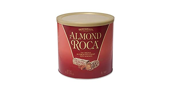 Almond Roca Canister, 42 oz: Amazon.com: Grocery & Gourmet Food