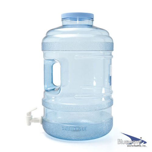 - Bluewave Lifestyle PK50GH-120V BPA Free Water Bottle with Big-Mouth & Dispensing Valve, 5 gallon