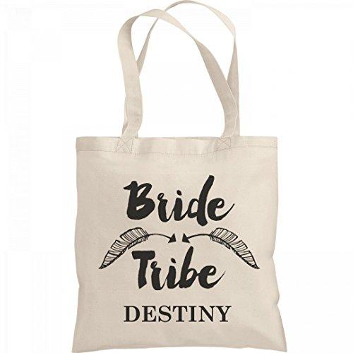 Bachelorette Bride Tribe Destiny: Liberty Bargain Tote (Destiny Bride Bridal Shops)