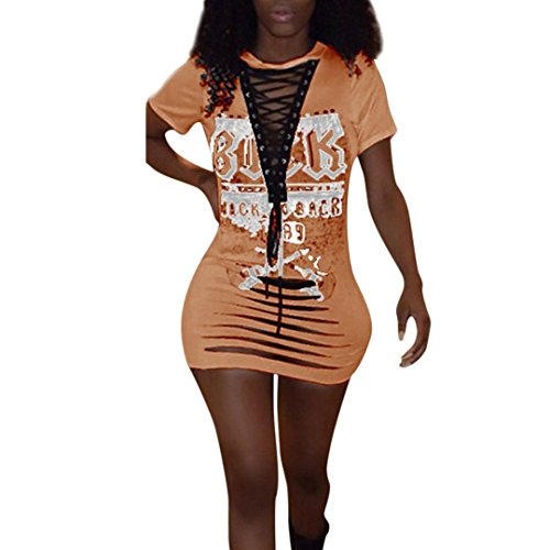 Cup Grecian One Piece - Night Cup Dresses, FORUU Women Summer Casual Bandage Bodycon Evening Party Short