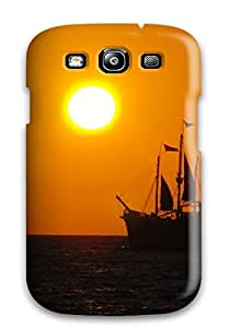 New Design Shatterproof WVPXulQ430RRlLU Case For Galaxy S3 (sunset)