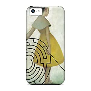 Premium ZKe22691mCEU Cases With Scratch-resistant/ James Jean Cases Covers For Iphone 5c