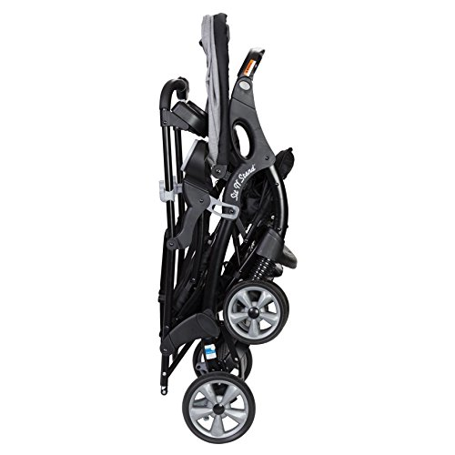 41VvCw7qySL - Baby Trend Sit N Stand Ultra Stroller, Morning Mist