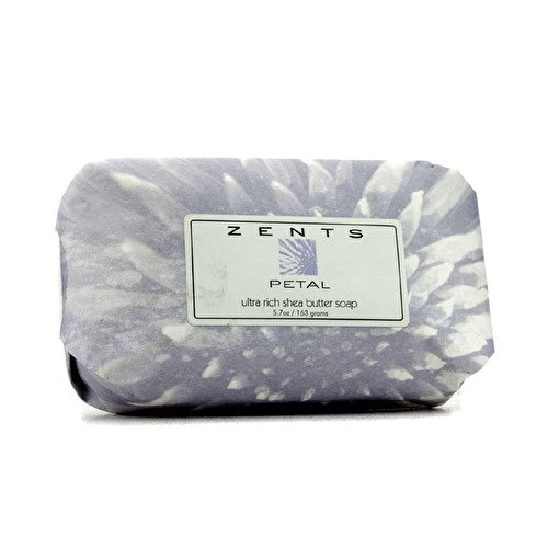 - Zents Luxe Soap, Petal, With Organic Shea Butter and Neem Oil, 5.7 oz/163 g