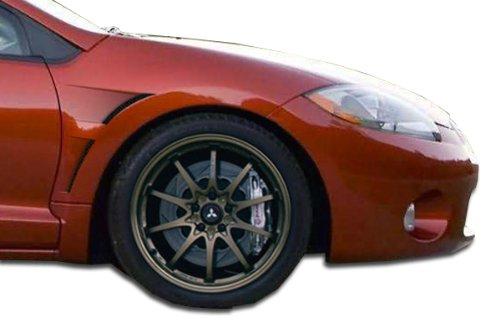 Duraflex ED-GZJ-079 GT Concept Fenders - 2 Piece Body Kit - Compatible For Mitsubishi Eclipse 2006-2012