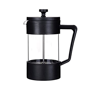Café Ole Colours Cafetiere, Stainless Steel, Red, 14 x 17.5 x 24.5 cm Grunwerg YM-10RD