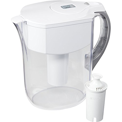 Brita Large 10 Cup Water Filter Pitcher with 1 Standard Filter, BPA Free – Grand, Multiple Colors by Brita