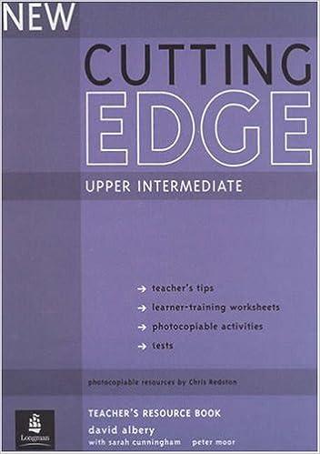 Workbook cutting worksheets : Cutting Edge: NA: 9780582825260: Amazon.com: Books