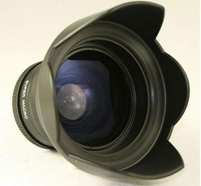 Professional High Definition 0.34X Super Fisheye Lens kit with macro For Nikon P510 / P520 & P530 Digital Camera by Zeikos