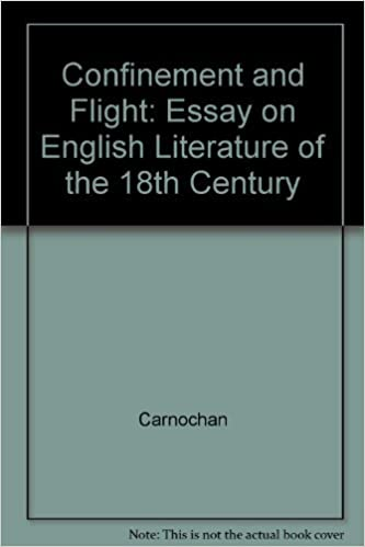 confinement and flight essay on english literature of the th  confinement and flight essay on english literature of the th century by  carnochan  hardcover