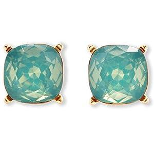 Square Glitter Stud Earrings