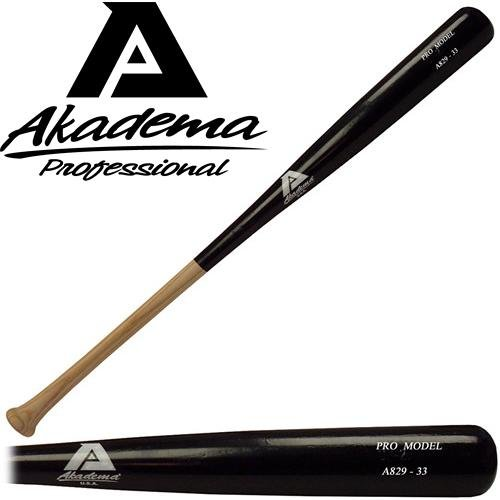 Akadema A829-34 Pro Level Quality Adult Amish Wood Baseball Bat 34 Inch