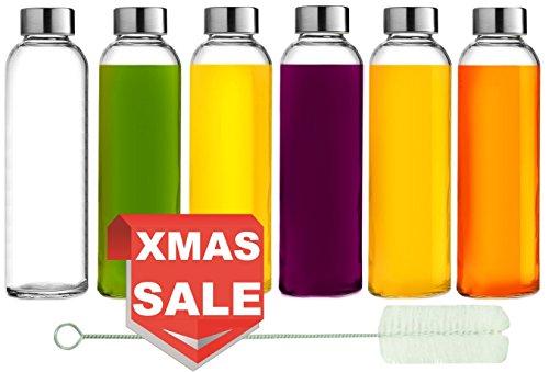 glass juicer bottles - 2