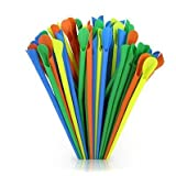 Snow Cone Straws Multicolor pack of 200