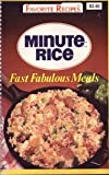 Minute Brand Rice Fast Fabulous Meals, Favorite Recipes, 1561733725