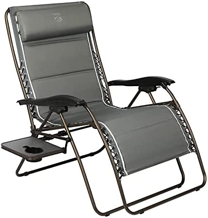 Deal of the week: TIMBER RIDGE Oversized Zero Gravity Chair Padded Patio Lounger