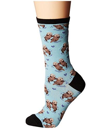 Socksmith Significant Otter Chalk Crew Socks