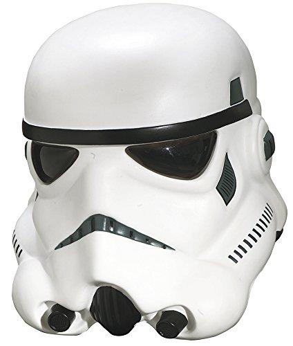 [Rubie's Costume Men's Star Wars Collector Stormtrooper Collectors Helmet, Multi, One Size] (Star Wars Darth Vader Adult Plus Costumes)