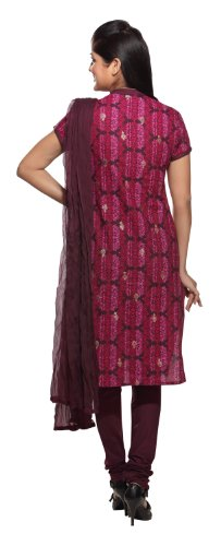Womens-Indian-Salwar-Kameez-Set-X-Small-Purple