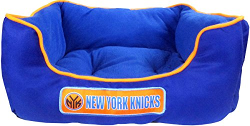 NBA NEW YORK KNICKS Dog Cuddle Bed. Comfortable Pet Bed