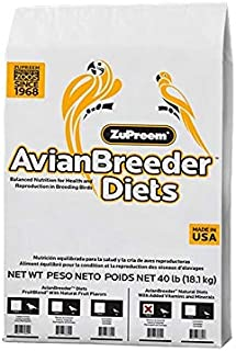 product image for ZuPreem Fruit Blend Cockatiel Avian Breeder Diet 40lb