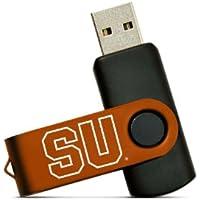 NCAA Syracuse Orange 4GB High-Speed USB Flash Drive with Swivel Cap and Lanyard