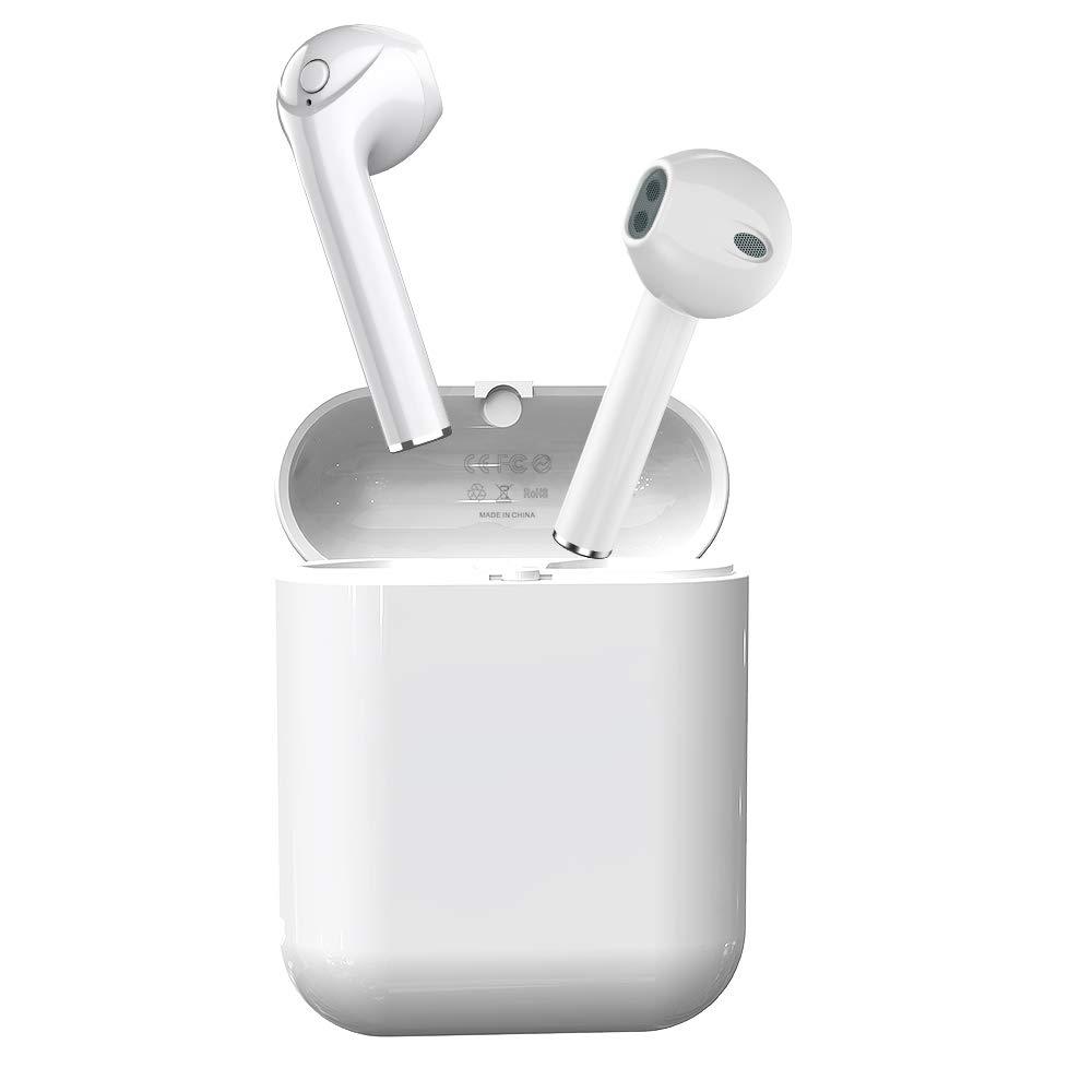 True Wireless Earbuds Mijiaer Bluetooth 5.0 Headphones with Microphone Bass Earphones with Charging Case